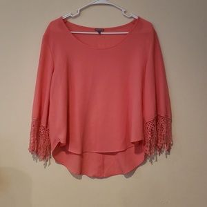 Pretty Charlotte Russe sheer Top